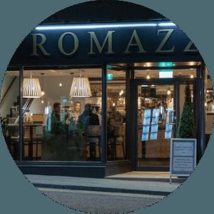 ⭐⭐⭐⭐⭐<br>Romazzino Restaurant