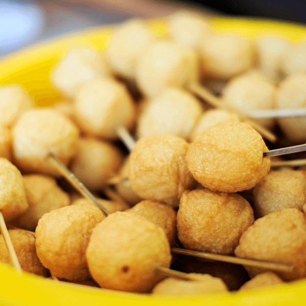 fried cod nuggets takeaway
