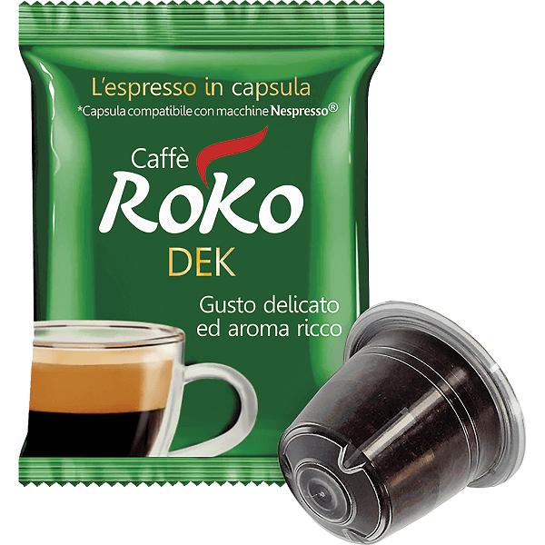 decaffeinated coffee capsules Nespresso