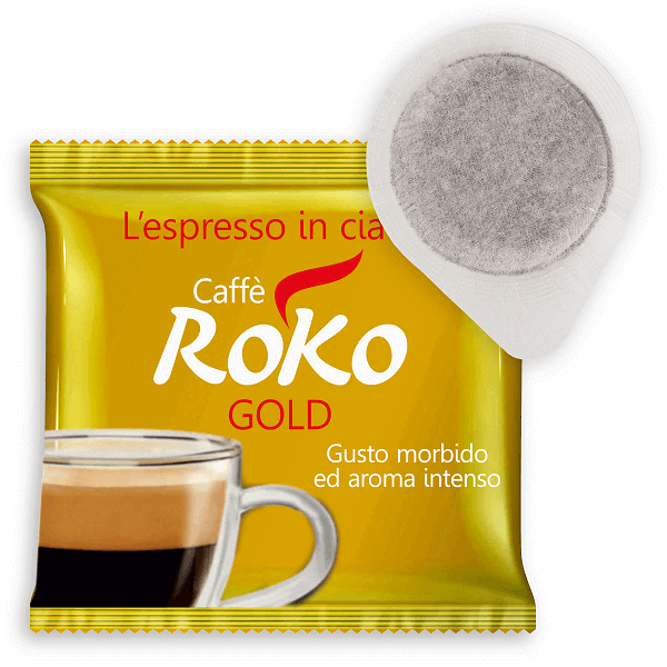 coffee pods gold