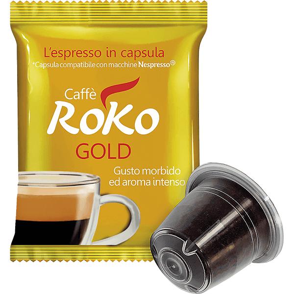 Gold capsules nespresso